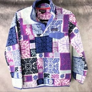 PATAGONIA SYNCHILLA QUILT PULLOVER AB028